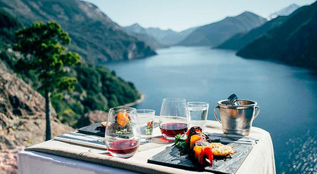 Picnic gourmet en Bariloche