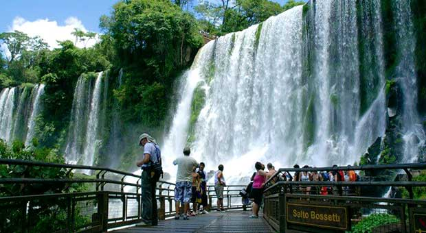 iguazu falls view argentina travel agency