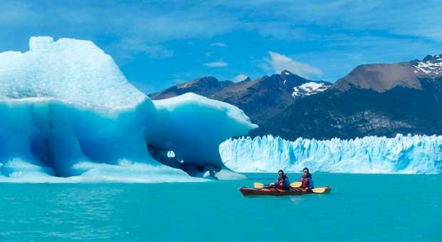 glacier kayaking calafate patagonia argentina