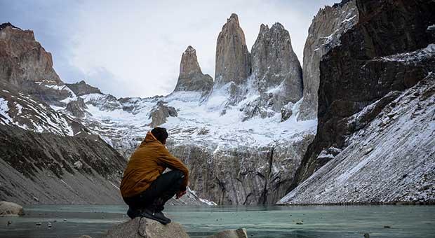 trekking tour base torres del paine chile travel agent