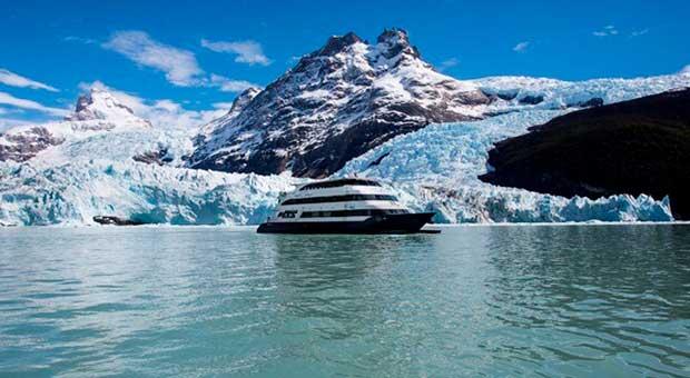 glaciers luxury navigation patagonia