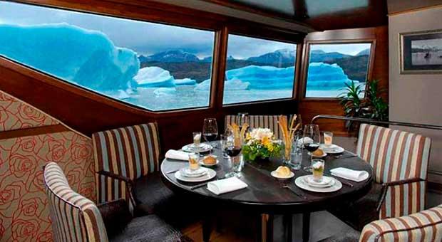 luxury cruise calafate glaciers