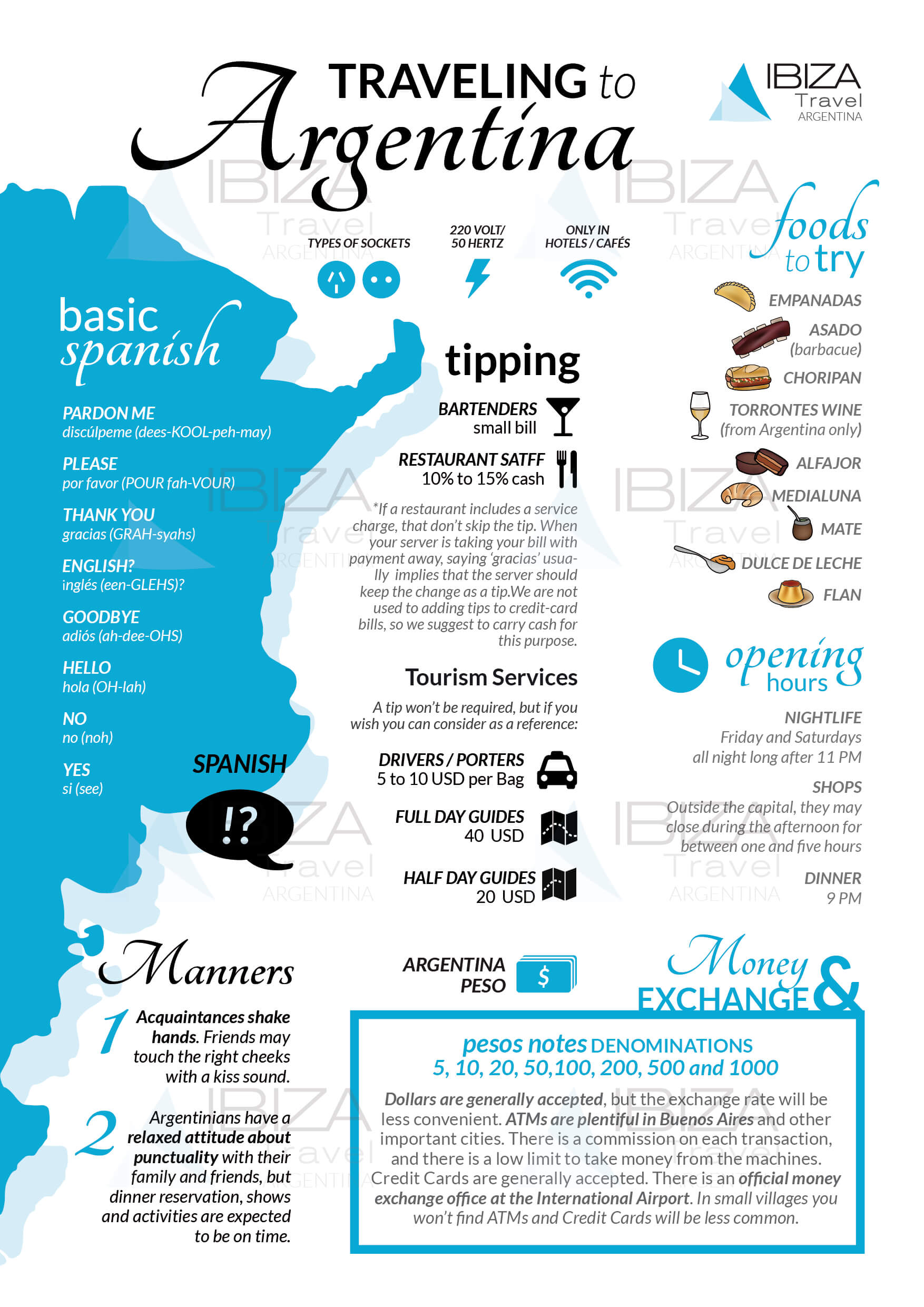 traveling to argentina travel guide