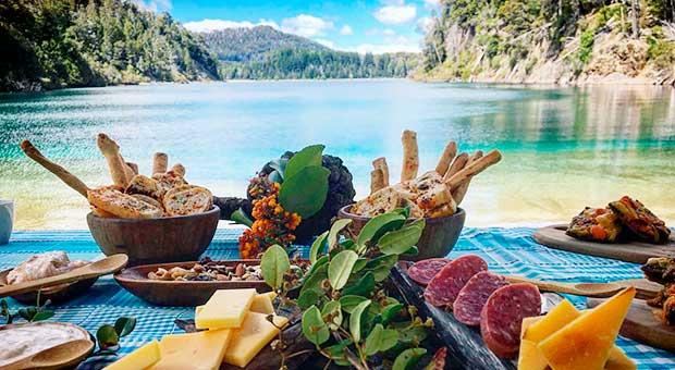 bariloche picnic tour patagonia argentina travel agent