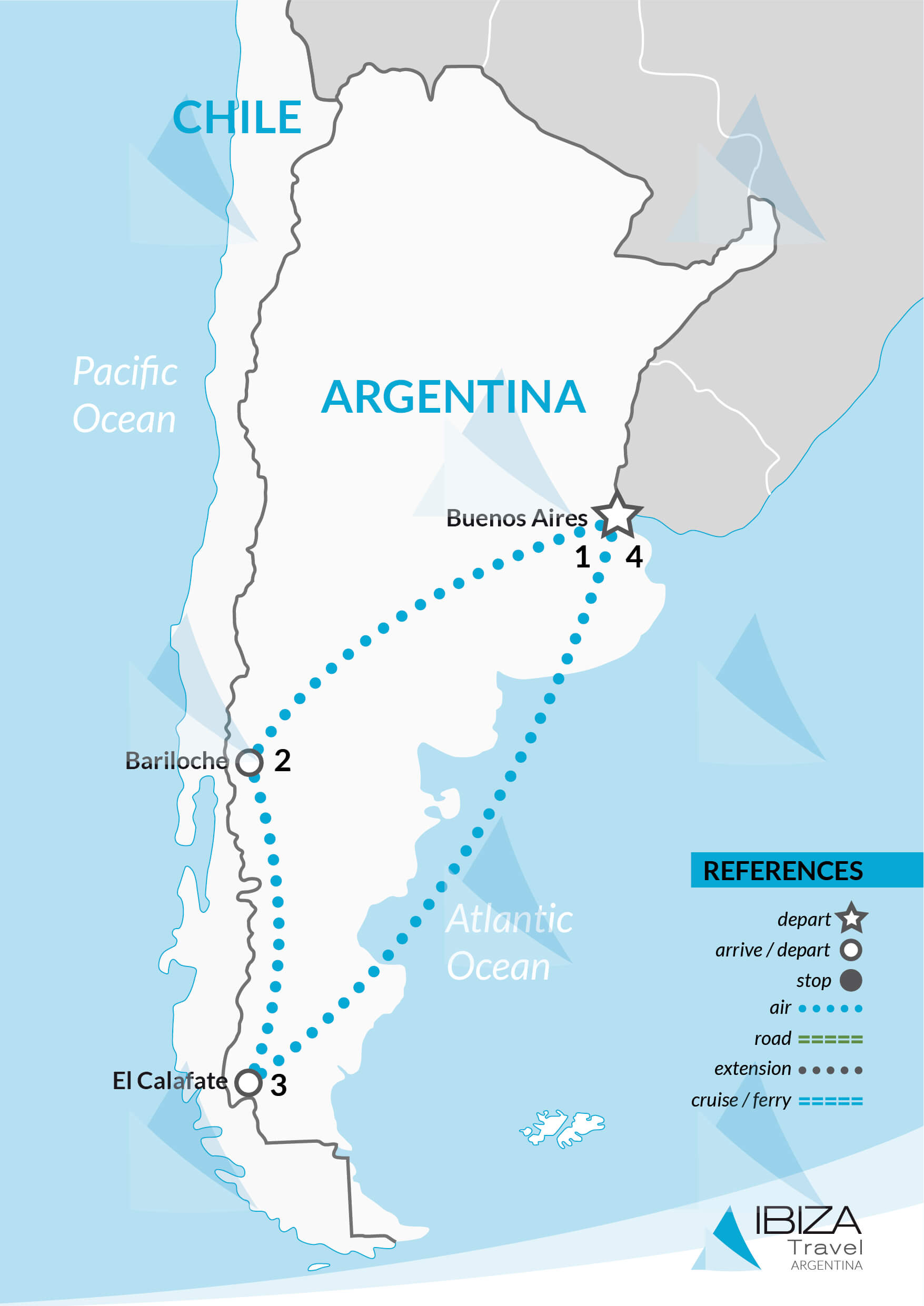 patagonia lakes and glaciers tours argentina travel agency